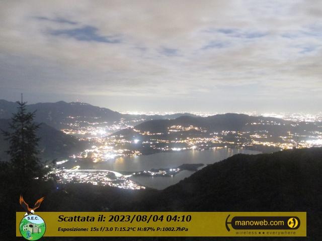 Panorama dal Monte Cornizzolo